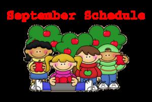 September 2014 Workshop Schedule Websites and Coffee