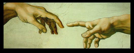 Fingers of Adam + God personal wordpress support
